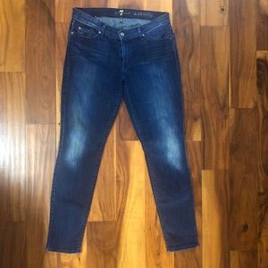 7FAMK 7 For All Mankind The Skinny Denim Jeans 31
